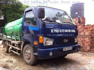 Hút Bể Phốt Tại Đường Bà Huyện Thanh Quan – 0989350222