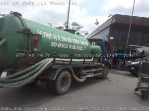 Hút Bể Phốt Tại Thanh Oai – 0989350222