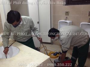 Nhận Hút Bể Phốt Tại Đường Nguyễn Hữu Huân 0989350222