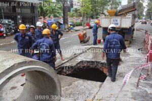 Thông Hút Bể Phốt Tại Hoàng Văn Thái – 0989350222