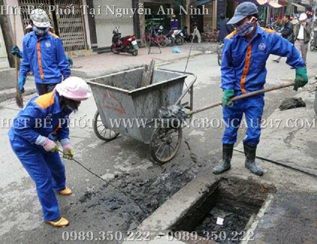 Hút bể phốt tại Nguyễn An Ninh nhanh chóng, chất lượng