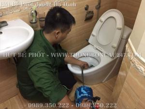Nhận Hút Bể Phốt Tại Đường Hạ Đình – 0989350222